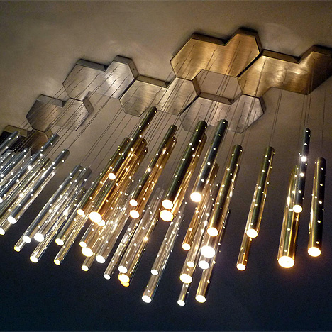 rain chandelier ilanel design studio1 60 Examples of Innovative Lighting Design