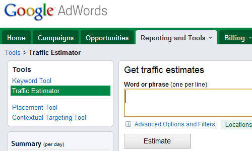traffic estimates Top 30 Powerful Google Products You Need To Know