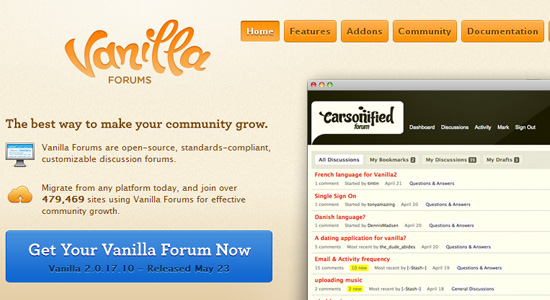 vanilla forums Top 10 Forum Choices and Alternatives for Your Website