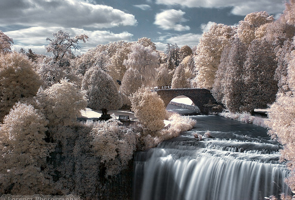 websters falls 45 Impressive Examples of Infrared Photography