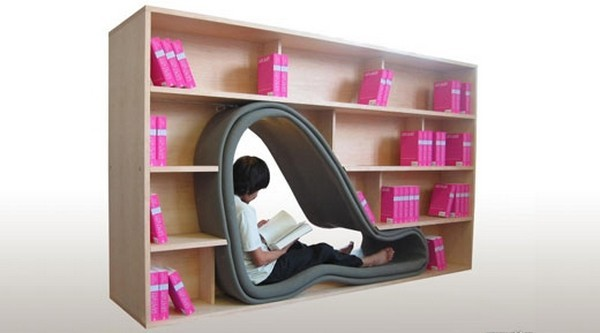 1297 46851 50 Unique and Unconventional Bookcase Designs