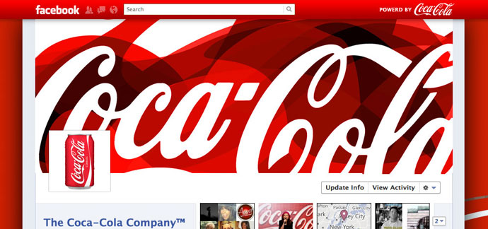 18 unique and creative facebook timeline profile designs 131 40 Creative Examples of Facebook Timeline Designs
