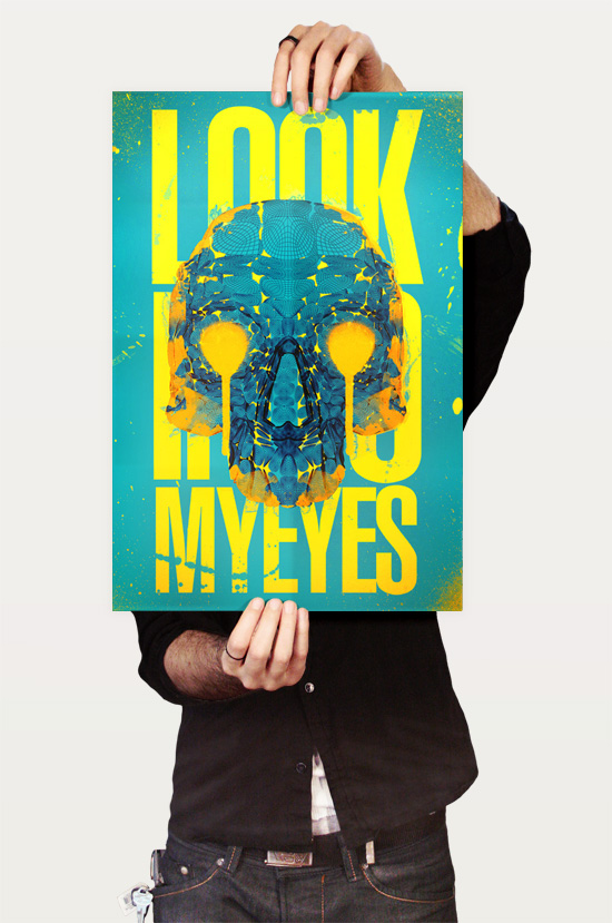 1color1 90 Incredible Skulltastic Designs and Artworks