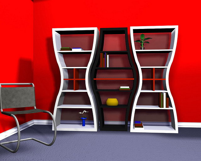 2404170200 f1523d3834 z1 50 Unique and Unconventional Bookcase Designs