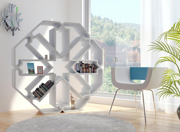 260569261 688c3146d31a1 50 Unique and Unconventional Bookcase Designs