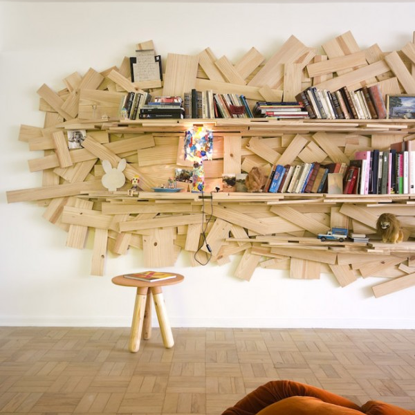 261203083 3c929648d7821 50 Unique and Unconventional Bookcase Designs