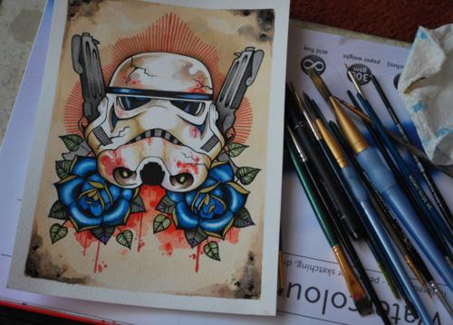 263901881 9635dd1b11bb1 60 Impressive Star Wars Illustrations and Artworks
