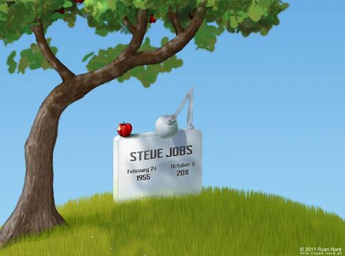 33 steve jobs tribute1 Steve Jobs an Inspiration To All