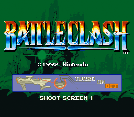 battleclash full1 60 Inspirational Title Graphics of 16/8 bit Games
