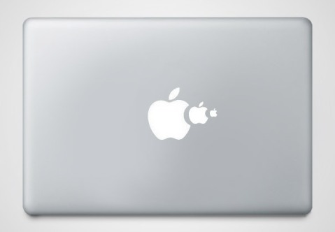 cool macbook stickers food chain1 50+ Creative Macbook Pro Decals From Etsy