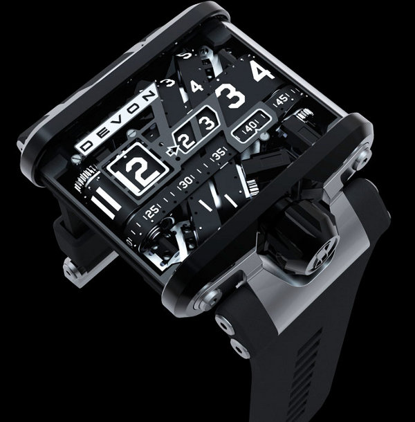devon works tread 1 watch 11 30 Beautifully Complex Watch Designs