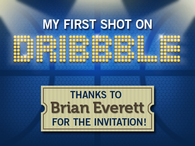 dribbble firstshot11 50 Graceful Invite Shots From Dribbble
