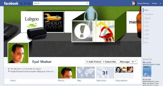 facebooktimelinecreativeprofile101 40 Creative Examples of Facebook Timeline Designs