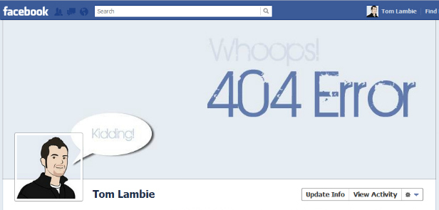 fb4119299931 40 Creative Examples of Facebook Timeline Designs