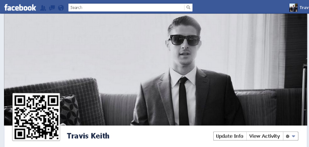 fbe77on1 40 Creative Examples of Facebook Timeline Designs