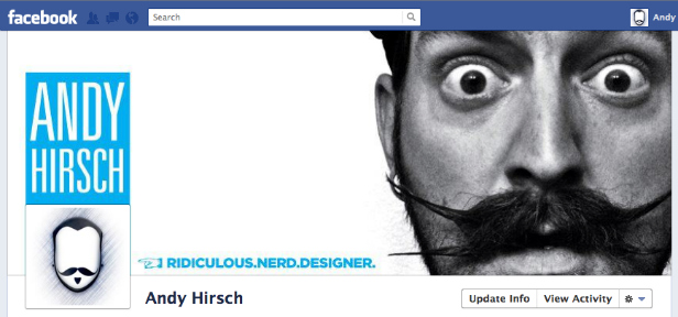 fbnew11 40 Creative Examples of Facebook Timeline Designs