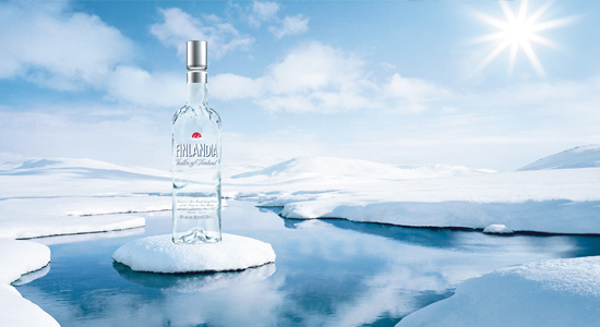 finlandia vodka A Boxing Clever Approach to Design