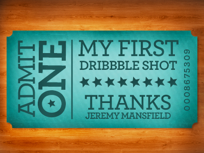 first shot1 50 Graceful Invite Shots From Dribbble