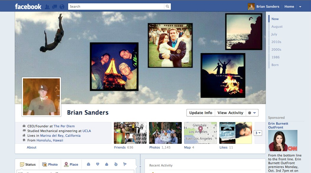 g5qui1 40 Creative Examples of Facebook Timeline Designs