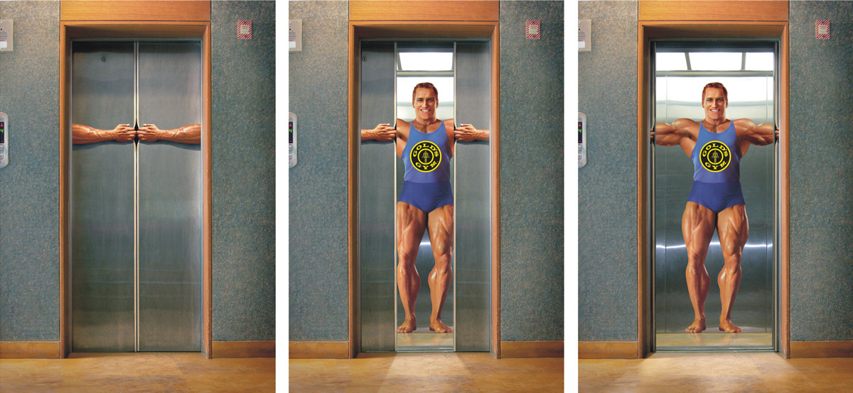 goldsgym1 35 Creative Fitness Ads To Encourage You