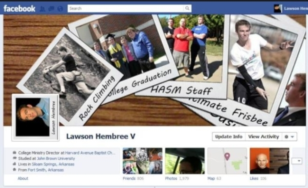 lawson1 40 Creative Examples of Facebook Timeline Designs