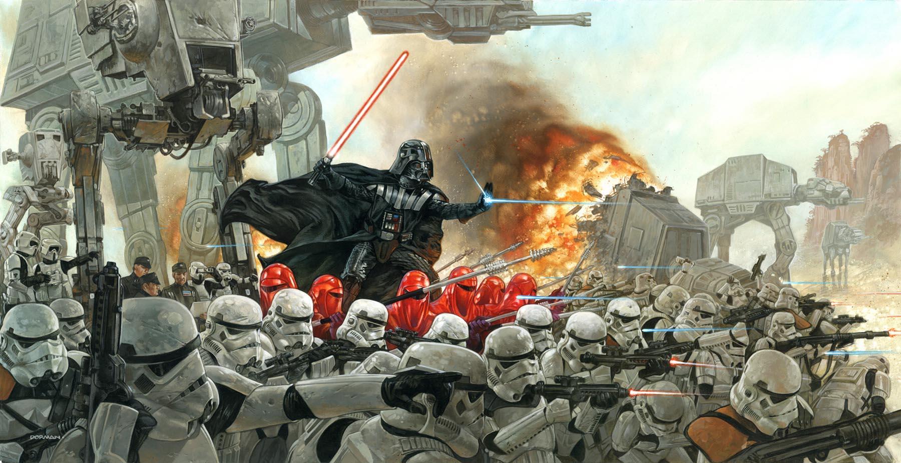 60 Impressive Star Wars Illustrations and Artworks