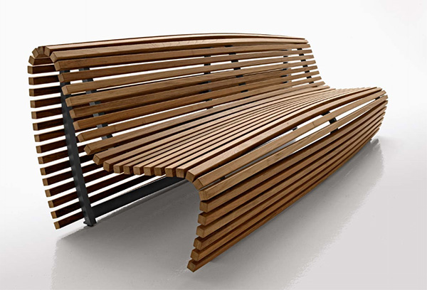 outdoor bench seating wood bb italia 21 30 Adventurous Public Bench Designs
