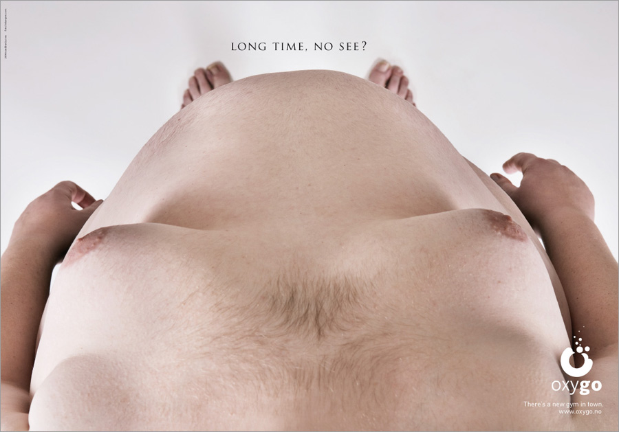 oxygo gym1 35 Creative Fitness Ads To Encourage You