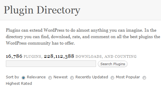 plugin directory Is WordPress the Best CMS for Your Blog/Business?