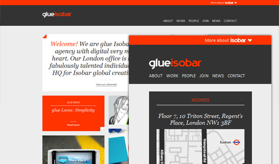 post 1 461 60 Examples of Responsive Website Design