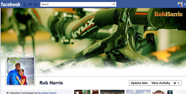 rob harris 40 Creative Examples of Facebook Timeline Designs