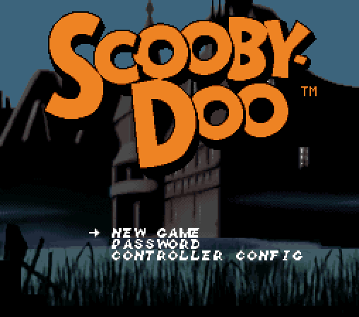 scoobydoo full1 60 Inspirational Title Graphics of 16/8 bit Games