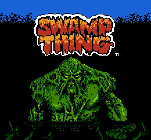 swampthing static1 60 Inspirational Title Graphics of 16/8 bit Games