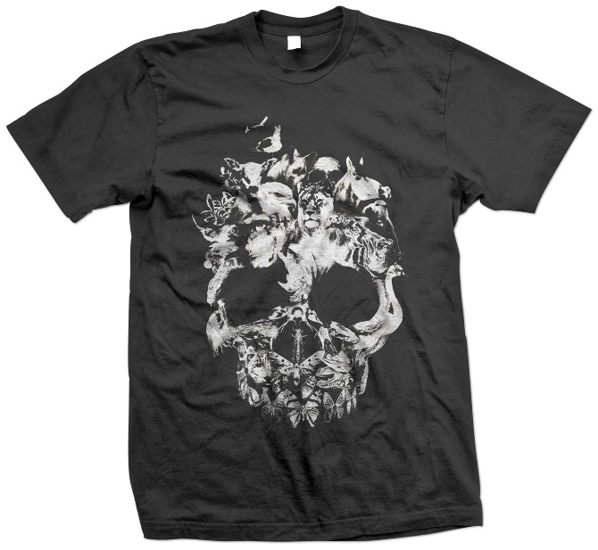 tshirt1 90 Incredible Skulltastic Designs and Artworks