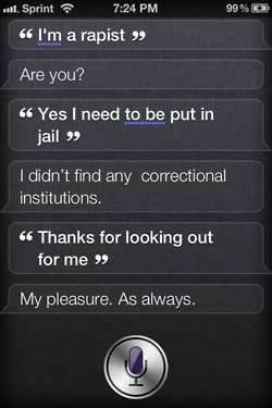 tumblr ltc6snio6x1r4eoiuo1 2501 50 Hilarious Things That Siri Says