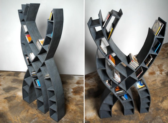 unusual and desirable bookshelves designs bibliotheque tree1 50 Unique and Unconventional Bookcase Designs