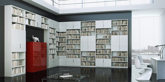 unusual and desirable bookshelves designs mday bookcase1 50 Unique and Unconventional Bookcase Designs