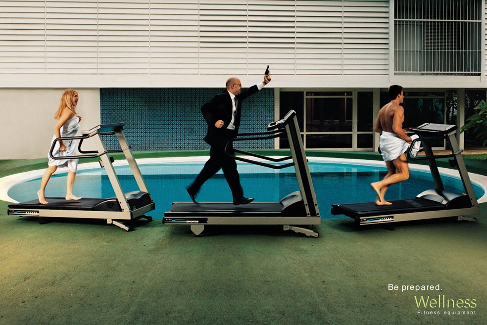 wellness adultery1 35 Creative Fitness Ads To Encourage You