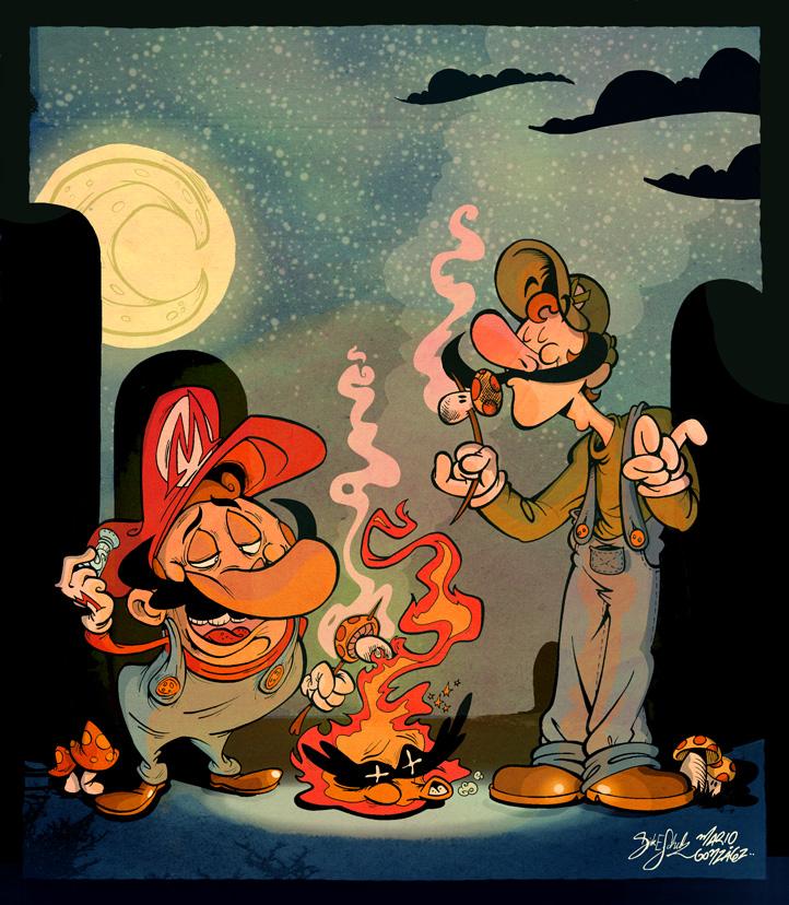 02b413f3dd342ffad5d4852bb235c6641 50 Incredible Super Mario Bros Artworks
