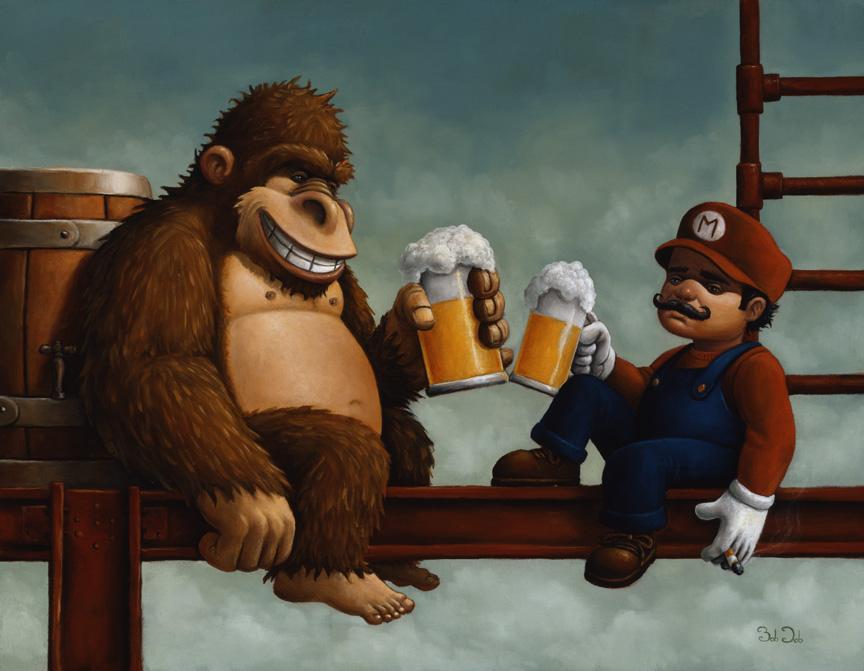 0421 50 Incredible Super Mario Bros Artworks