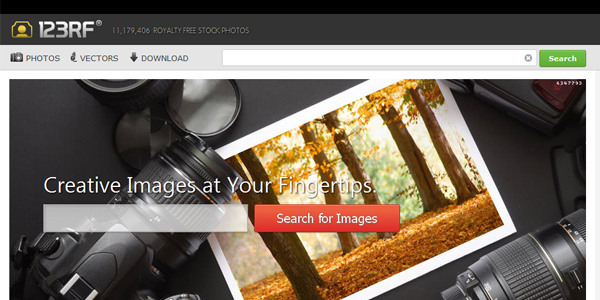 123rf Top 15 Commercial Stock Photography Websites