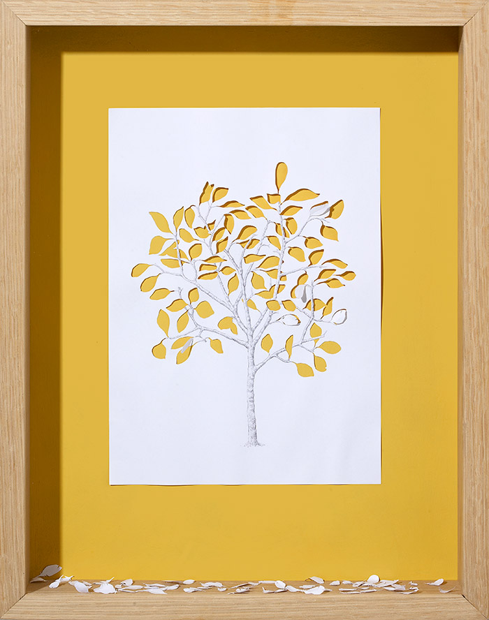 15 fall 11 25 Striking Framed Papercuts by Peter Callesen