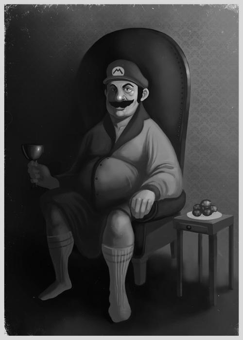222891 14910568 lm1 50 Incredible Super Mario Bros Artworks