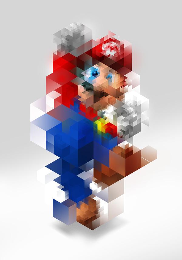 3f3e032419fe19f1707f77d6249de0e61 50 Incredible Super Mario Bros Artworks