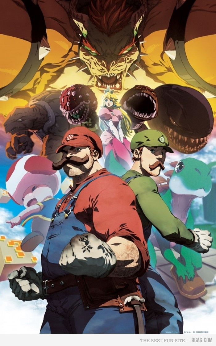 443412 700b1 50 Incredible Super Mario Bros Artworks