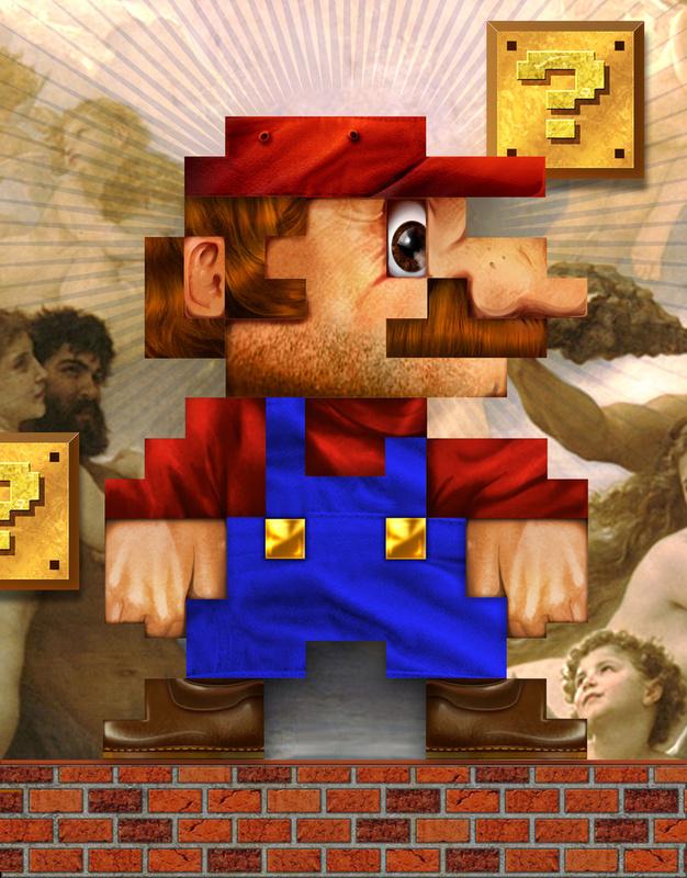 82939 1905718 ll1 50 Incredible Super Mario Bros Artworks