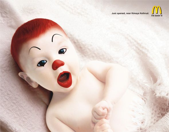 baby ronald preview1 35 Creative McDonalds Corp Advertising Practices
