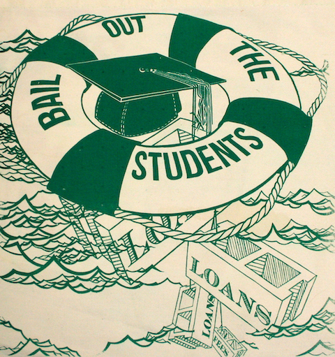 bailoutthestudents1 40 Exciting Occupy Movement Poster Designs