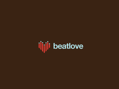 beatlove1 45 Heart and Love Logo Designs