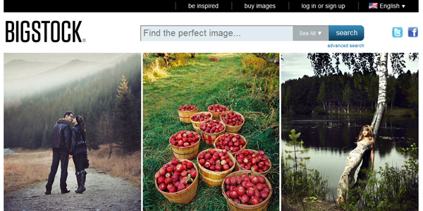 bigstock Top 15 Commercial Stock Photography Websites
